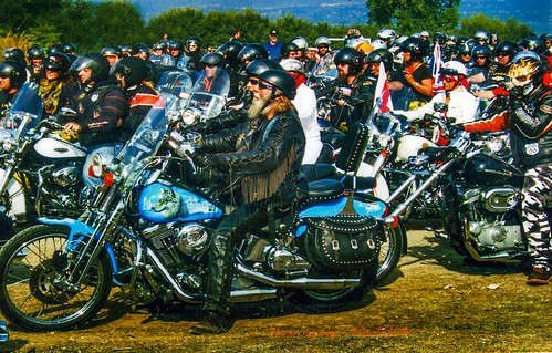 Ian Venart Harley Davidson Charity Bike Parade