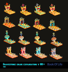 Book Of Life- Tomb Color Concepts (Tod Polson) Tags: animation colorscript color design bookoflife featurefilmdevelopment