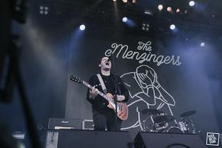 The Menzingers @ Groezrock / Shot by Doug Elliott
