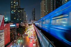 สถานีพญาไท (Max Peter1) Tags: สถานีพญาไท bangkok nightshot thailand trainstation train fuji xpro2