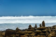 Kaui 234 DSC03743 (cpburt) Tags: kauai hawaii napalicoast kalalautrail hanakapiai beach stackedrocks