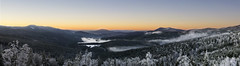 Winter Wonderland (timfeld1) Tags: germany bavarian forrest winter sunset orange red blue sky panorama cold