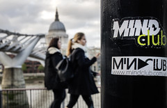 The Mind Club (Sean Hartwell Photography) Tags: london street candid mindclub southbank riverthames thames stpauls millenium bridge girl woman walking england