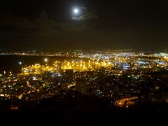 Haifa by night