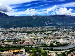 Grenoble ~ #Grenoble #RhôneAlps #clouds (Ben Moeller-Gaa) Tags: clouds grenoble rhônealps