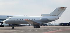 Yak-40 | CCCP-88279 | AMS | 19910428 (Wally.H) Tags: yak40 yakovlev40 cccp88279 metrocargo ams eham amsterdam schiphol airport