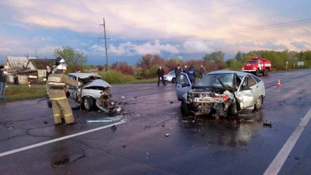 Оба водителя погибли вДТП сучастием 2-х ВАЗов под Тольятти