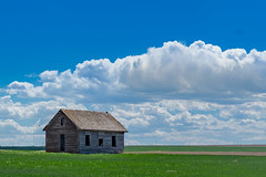 Weld County Rural School (Bridget Calip - Alluring Images) Tags: 2017 alluringimagescolorado billowingclouds bridgetcalip colorado dustbowl easternplains greatdepression kiowacreek weldcounty woodenschoolhouse allrightsreserved blueskies copyrighted dustyroads interior lifeontheplains oneroomschoolhouse prairie prairieschool schoolhouse wheatfields