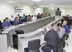 Sala de reuniões da Fecomércio sediou o evento
