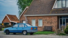 back to 80s... OPEL Kadett (Christian Passi - Steher82) Tags: opel kadett holland huis bank banch outdoor blue blau may mai sony sonyimages sonya6000 a6000 selp18105g nederland netherland oldtimer old vintage car spotting spotters 80er 80s 1986 auto wagen pkw haus