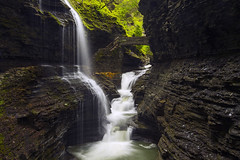 Rainbow Falls (Matt Champlin) Tags: watkinsglen waterfall water waterblur waterfalling fall rainbowfalls watkinsglenstatepark gorge trail hike hiking nature amazing canon 2017 landscape spring springtime fingerlakes cny wondersoftheworld natural environment pristine