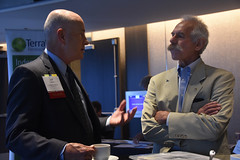 Jeff Byron (former California Energy Commissioner) and California Public Utility Commissioner President Michael Picker