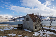 Abandoned house (NأT) Tags: urbex urban urbain urbaine explorationurbaine exploration em1 explore exploring empty alone nobody house home maison casa mer sea ocean greenland iceland islande icelandic islandais islandaise olympus omd zuiko 714mm 714 wideangle wide angle uga lost perdu perdue ancien ancienne old decay decaying derelict dust dusty rusty rust arbre arbres tree trees nature neige snow winter hiver landscape landscapes paysage paysages abandoned abandon abandonné abandonnée abbandonato abbandonata day light lumière lumiere jour photography photo photographie
