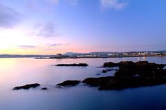 Sunset on Elie (jamesdewar99) Tags: landscapesunsetgoldenhourcolourcoastscotlandshorelinerockswavesmotionblurlight eastcoast