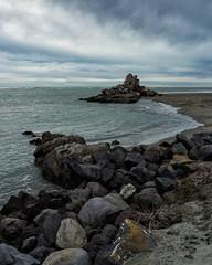Shag Rock (malcolmgrant2) Tags: waves rocks seaside shagrock fe28mm sonya7