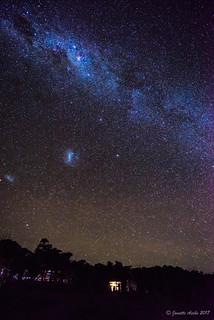 Milky Way at Retakunna Hut 2