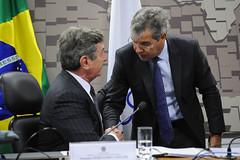 CRE - Comissão de Relações Exteriores e Defesa Nacional (Senado Federal) Tags: audiênciapública cre fab forçaaéreabrasileira senadorfernandocollorptcal senadorjorgevianaptac brasília df brasil bra