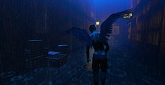 Lonely Angel (AW02) Tags: sl secondlife slink catwa angel