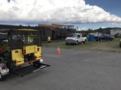 Tow rigs (primemover88) Tags: speeder railcar excursion narcoa elkins wv west virginia durbin greenbrier valley railroad