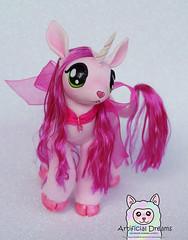 Granate Sirope ♥ (Craia) Tags: artificial dreams handmade unicorn art doll plush poseable artist cute kawaii fur stuffed animal craia manga resin polyurethane