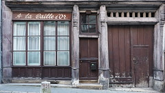A la Paille d'Or (Hugo Malki) Tags: colombages old houses colors abandoned wood france europe europa street city