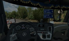 [ETS2 1.27] mercedes actros mp4 krone trailer diez spedition (trucker on the road) Tags: ets2 127 mercedes actros mp4 krone trailer diez spedition