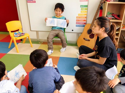 Making books and telling stories at Star Kids International Preschool, Tokyo. #starkids #international #preschool #school #children #kids #kinder #kindergarten #daycare #fun #shibakoen #minatoku #tokyo #japan #instakids #instagood #twitter #子供 #幼稚園 #保育園 #