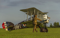 Sentry Duty (Kev Gregory (General)) Tags: timeline events sunset night shoot stow maries great war aerodrome maldon essex world one wwi raf rfc royal flying corp air force sqn squadron biplane aircraft aeroplane historic kev gregory canon 7d