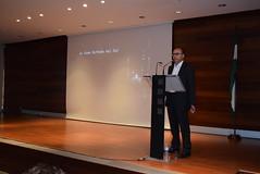 Diego García Campos, director del documental, hizo una introducción antes del pase. (almeriainformacion) Tags: cine documental la fosa borrada del sur memoria histórica almería museo de