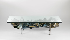 New Muse Coffee Table (Paley Studios) Tags: coffeetable decorative art bright brash design steel forged lyrical organic fluid