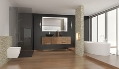 (Tiles Unlimited) Tags: Bad Sanitär Badewanne Wellness Wellnessbad  Freistehendebadewanne Klassisch Luxuriös Luxus Modern