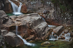 Bed of rocks (ferreira.ajbf) Tags: gerês waterfall cascata mataalbergaria nature river water portugal nationalpark parque rocks geira percurso track landscape