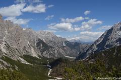 Il vallone da Capanna Alpina al rifugio Galassi