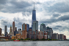 City by the Sea II (Bob90901) Tags: city sea newyorkcity hss sliderssunday manhattan cityscape oneworldtradecenter clouds skyline tower skyscraper rpg90901 summer architecture buildings afternoon canon 6d canonef24105mmf4lisusm sky nyc 2015 september 1232
