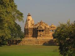 Chitragupta Temple (solarisgirl) Tags: khajuraho mp chitraguptatemple temple stone carving chitragupta grass trees