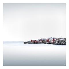 Fusion (Artery-Crea) Tags: rocks fishinghouse redhouse landscapephotography seascape longexposure fineartphotography norway snow winter lofoten water juliencarcano