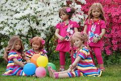 Der Tag war sooo schööön ... (Kindergartenkinder) Tags: grugapark essen kindergartenkinder blüte baum garten blume park frühling annette himstedt dolls margie annemoni sanrike azalee tivi milina