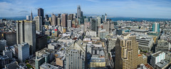 cityscape lll (pbo31) Tags: bayarea california nikon d810 color may 2017 spring boury pbo31 sanfrancisco city urban over view skyline tenderloin hilton hotel rooftops financialdistrict unionsquare salesforce transamerica panoramic large stitched panorama