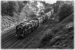 34052 (Tomahawk Photography) Tags: 34052 34046 lorddowding ukrail ukrailways rail railway railways uksteam steamtrain steam train hatton