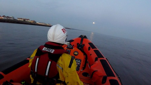 Moon rise captured by a crew members helmet camera