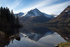 Speilete fjell - - Mirrored mountains (erlingsi) Tags: no fjell mountain speiling reflection vatnevatn norway norwayscape trær lake
