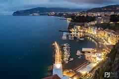 Marina Grande, Sorrento (philrdjones) Tags: 2017 harbour italy landscape light marina marinagrande may night overview peninsula port sorrentine sorrento view