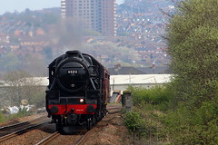 Black 5 45212 (Jammers007) Tags: black5 blackfive lms britishrailways railways railway railroad gateshead tynevalleyline train locomotive
