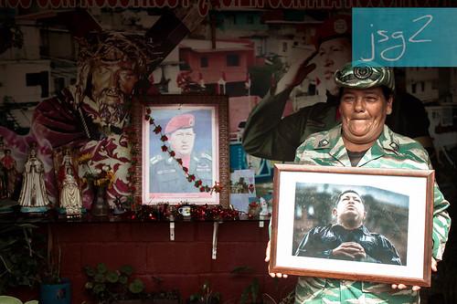 """Capilla """"Santo Hugo Chávez del 23"""", La Planice (Caracas / Venezuela)"""