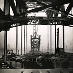View along the Tyne Bridge from the Gateshead side thumbnail