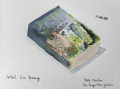 May daily challenge 15 - What I'm reading (chando*) Tags: aquarelle watercolor croquis sketch