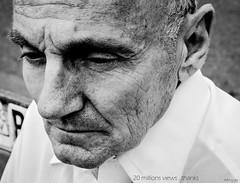 Tempus  Fugit - 20 millions views (♥Dany_de_Paris♥) Tags: portrait jimmy man homme millions view views vue