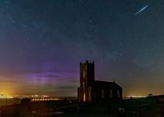 Aurora on 22/4/2017 at Tamlaghtard Parish church Northern Ireland during Lyrids meteor storm (jac.photography49) Tags: auroratamlaghtard astrometrydotnet:id=nova2048980 astrometrydotnet:status=failed