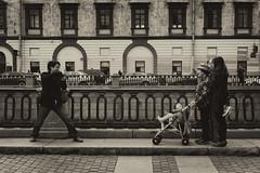 Family portrait - Семейный портрет (Valery Parshin) Tags: russia saintpetersburg canoneos600d canonefs24mmf28stm valeryparshin sepia blackandwhite 24mm