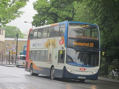 Stagecoach East 19568 AE10BWD Parker St, Cambridge on 10 (1280x960) (dearingbuspix) Tags: stagecoach stagecoacheast citi stagecoachcambridgeshire cambridgeciti ae10bwd 19568
